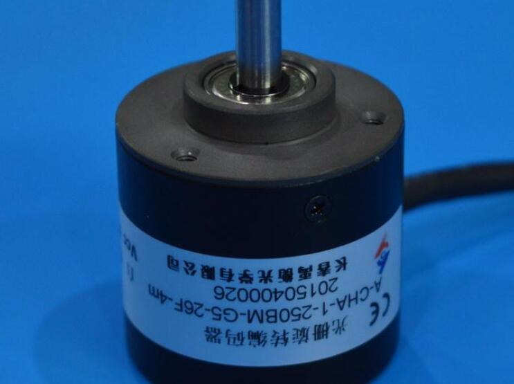 Incremental Grating Rotary Encoder A-CHA-1-250BM-G5-26F-4m 24V Push-Pull Output