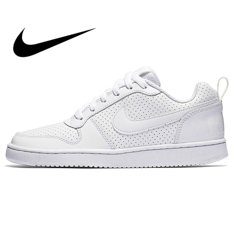 Original authentic new 2018 NIKE Court Borough women's shoes skateboard shoes classic low top sneakers comfortable andbreathable