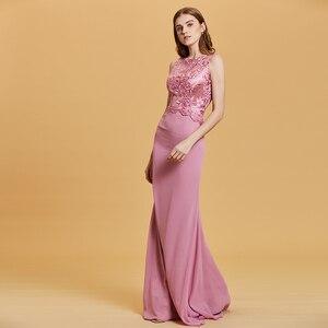 Image 3 - Dressv Dài Dạ Hội Tay Giá Rẻ V Cổ Tiệc Cưới Chính Thức Đầm Một Dòng Đầm Maxi Người Phụ Nữ Thanh Lịch Váy Ngủ Áo Choàng
