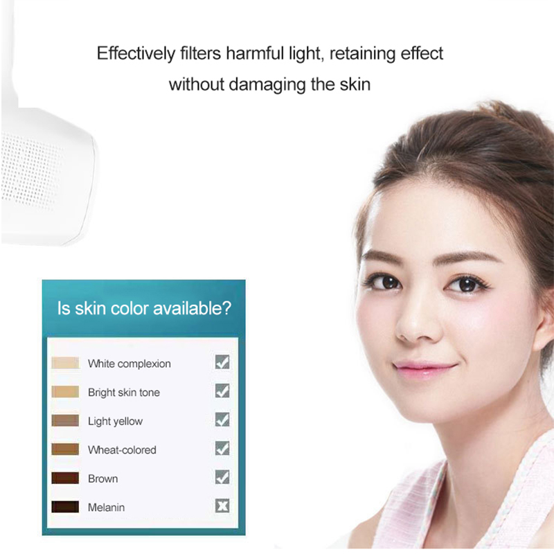 G 922A IPL Punch Permanent Epilator 8 Speed Energy Adjustment 40w Light Times Mild Fast Painless White Electric Epilator in Epilators from Home Appliances