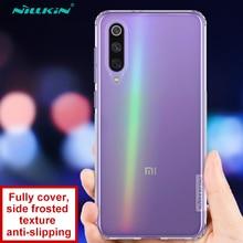 For Xiaomi Mi9 Se Case Mi 9 SE Back Cover NILLKIN Ultra Slim Clear Soft Silicone Transparent Phone Cases Funda