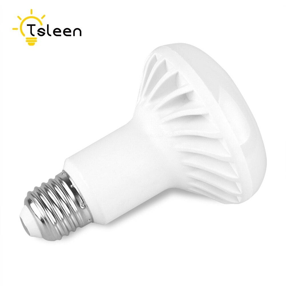 TSLEEN 5Pcs 85-265V 110V 220V R39 R50 R63 R80 LED Lamp Replacement Bulb Reflector Spot Light E27 E14 3W 5W 7W 9W 12W SMD 5730 led light bulb r50 r63 r80 e14 e27 b22 5w 7w 9w 5730smd reflector light lamp bulb pure warm natural white lighting ac85 265v