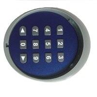 Clavier à mot de passe sans fil multifonction 433.92MHZ   Pour ouvre-porte de Garage et maison intelligente  porte et batterie sans pile