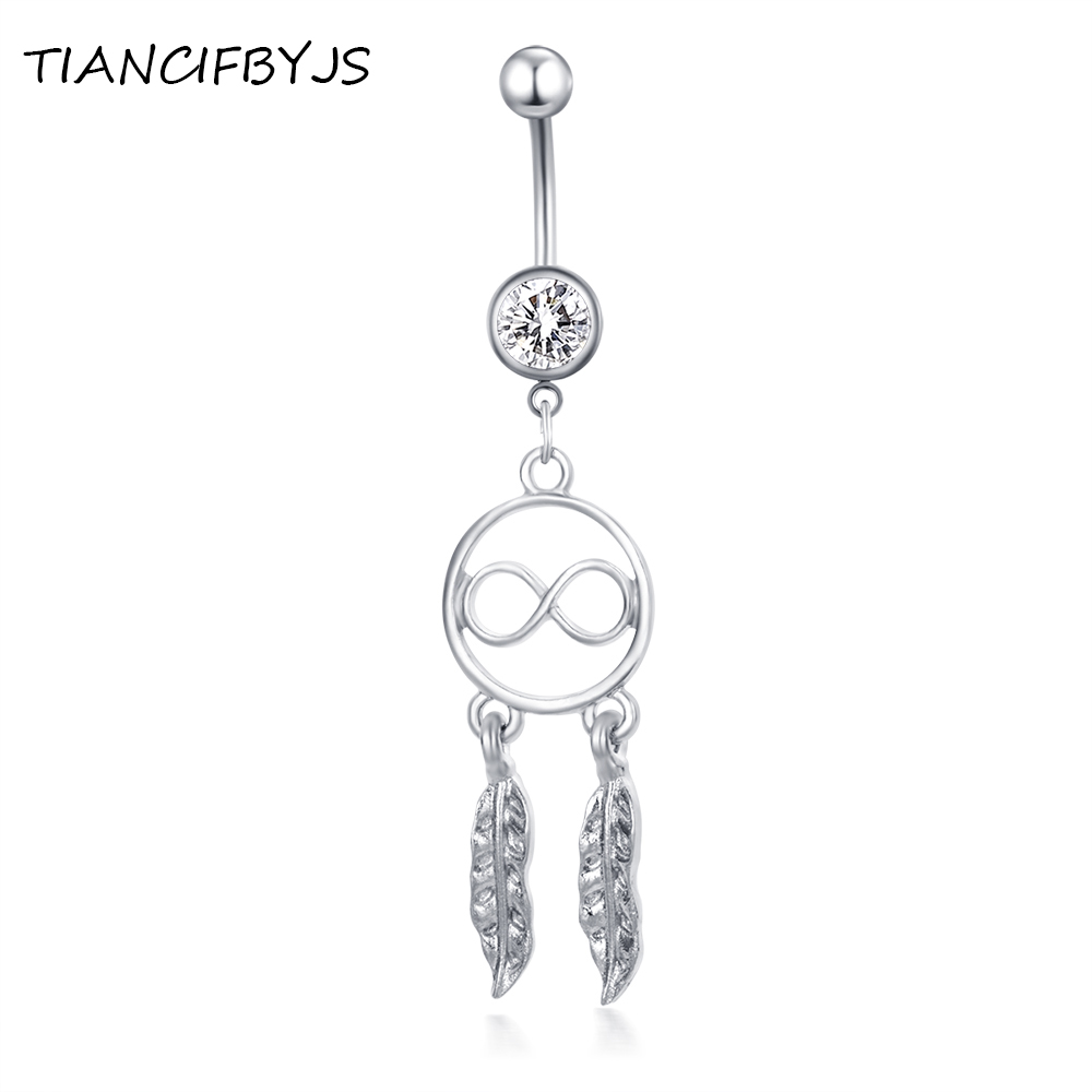 TIANCIFBYJS Leaf Dangle...
