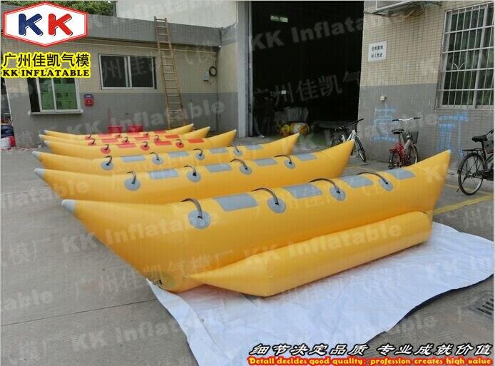 Bateau banane volant gonflable remorquable pour jeux de Sport nautique
