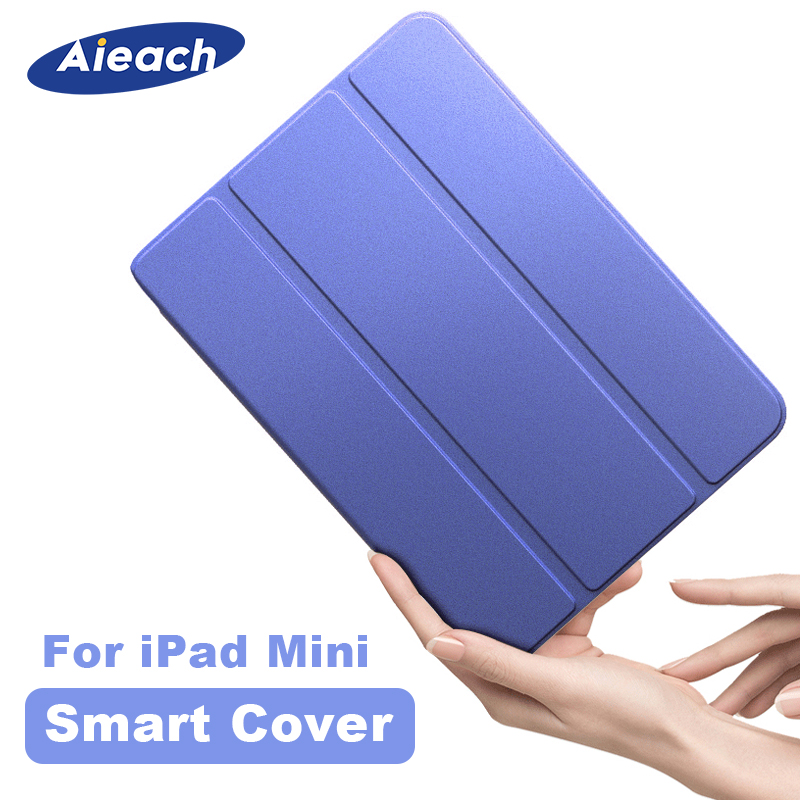 For Apple IPad Mini 1 2 3 4 5 Case 7.9 Inch Ultra Slim Smart Magnetic Stand PU Leather Silicone Cover For IPad Mini 5 2019 Funda