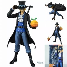 MegaHouse Variable Action Heroes Anime One Piece Sabo PVC Action Figure Collectible Model Toy 18cm Kt1925