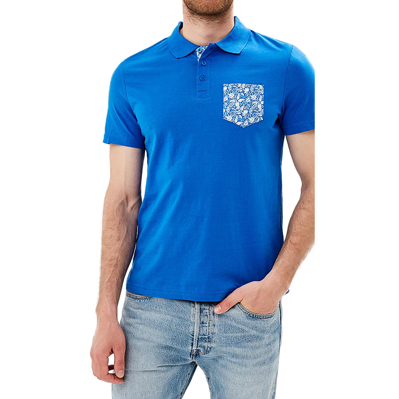 Polo Shirts MODIS M181M00160 men t-shirt cotton for male TmallFS