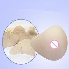 AS formájú 700-800G / db-os nő szilikon mellformája Breast Cancer Fake Boob Enhancer Prosthesis mellek Mastectomyhoz konkáv
