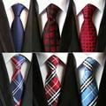 Caliente paisley corbata 100% corbatas de seda de los hombres stropdassen heren 2016 boda corbata cravate pour homme de tejido jacquard