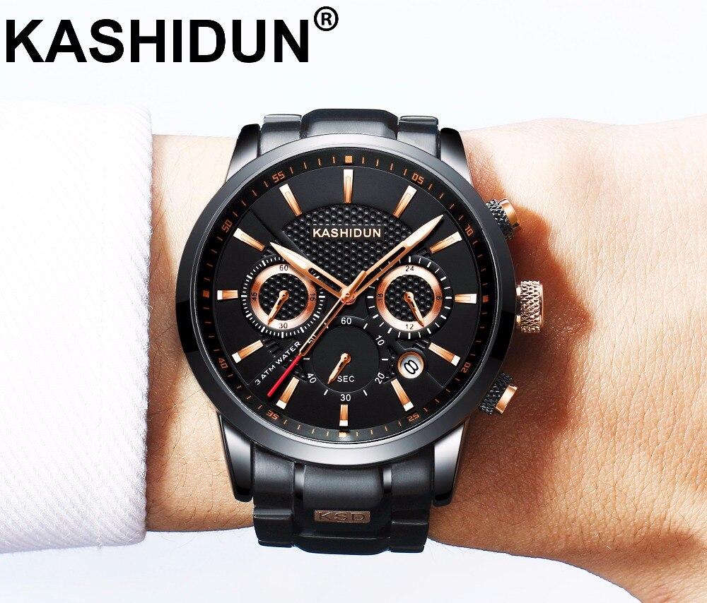 KASHIDUN Luxury Brand Mens font b Sports b font Watches Waterproof font b Military b font