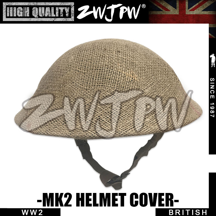 Crazy Deal] REPLICA WWII UK Army Mk2 British Helmet Net Cover Only