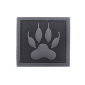3D высокое качество ПВХ Патчи Волшебная повязка на руку наклейки K9 патч и нашивки в форме собак Английский флаг значки собаки патчи