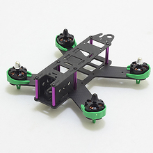 HOBBYINRC New Upgraded Version QAV210 Mini Quadcopter Racing Carbon Fiber Frame Kit with 2204 Motor Protection Seat