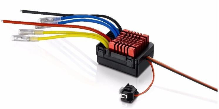 Hobbywing QuicRun WP 880 Dual Brushed 80A 2 4s 6V 4A BEC Waterproof ESC Speed Controller