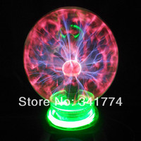 Novelty Items LED Magic Plasma Ball Lightning lamp Induction Night Lights Gift For Kids Home Party Holiday Outdoor Indoor Decor