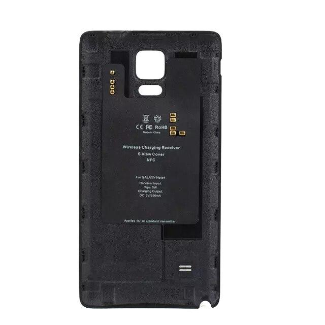 Qi беспроводной зарядки приемник для Samsung Galaxy Note 4