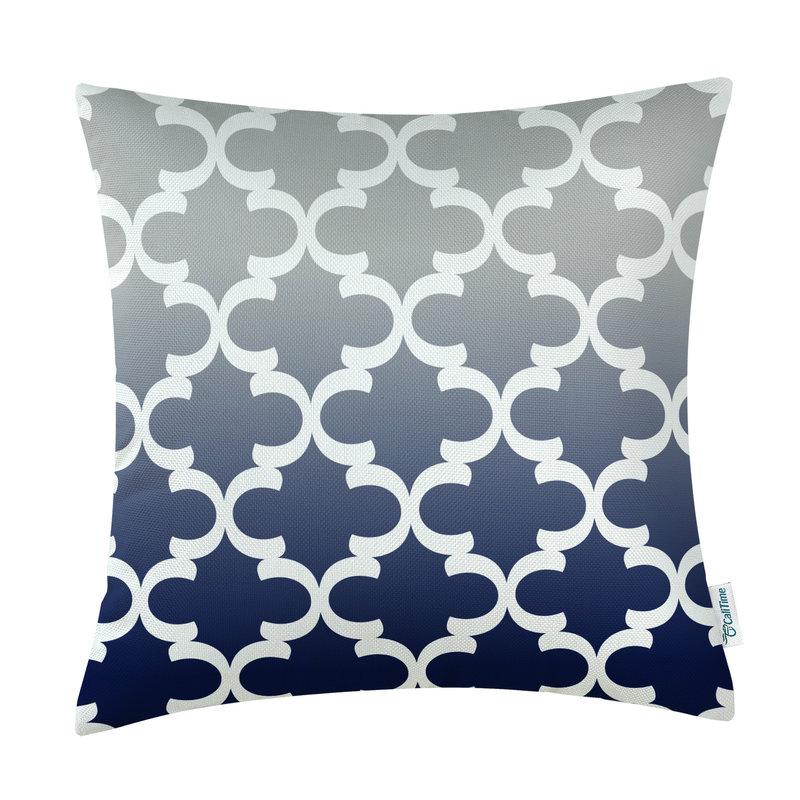 Kvadrat CaliTime Yastığı Örtük Yastıqları Shell Ev Divan - Ev tekstil - Fotoqrafiya 5