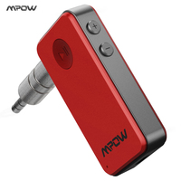 Geniune MPOW Mini Streambot Bluetooth Receiver Portable Wireless Adapter With 3 5mm AUX Input Car Kit