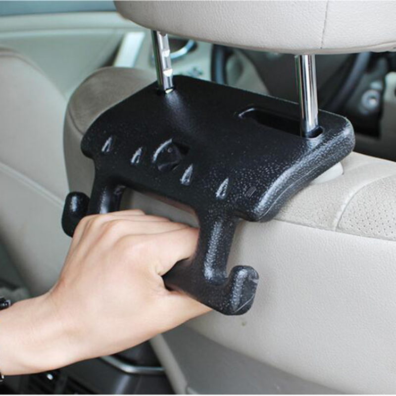 Creative Auto Hook Old Man Child Safety Armrest Grab Bar Car Seat Headrest Hanger For Bags Storage Bag ...