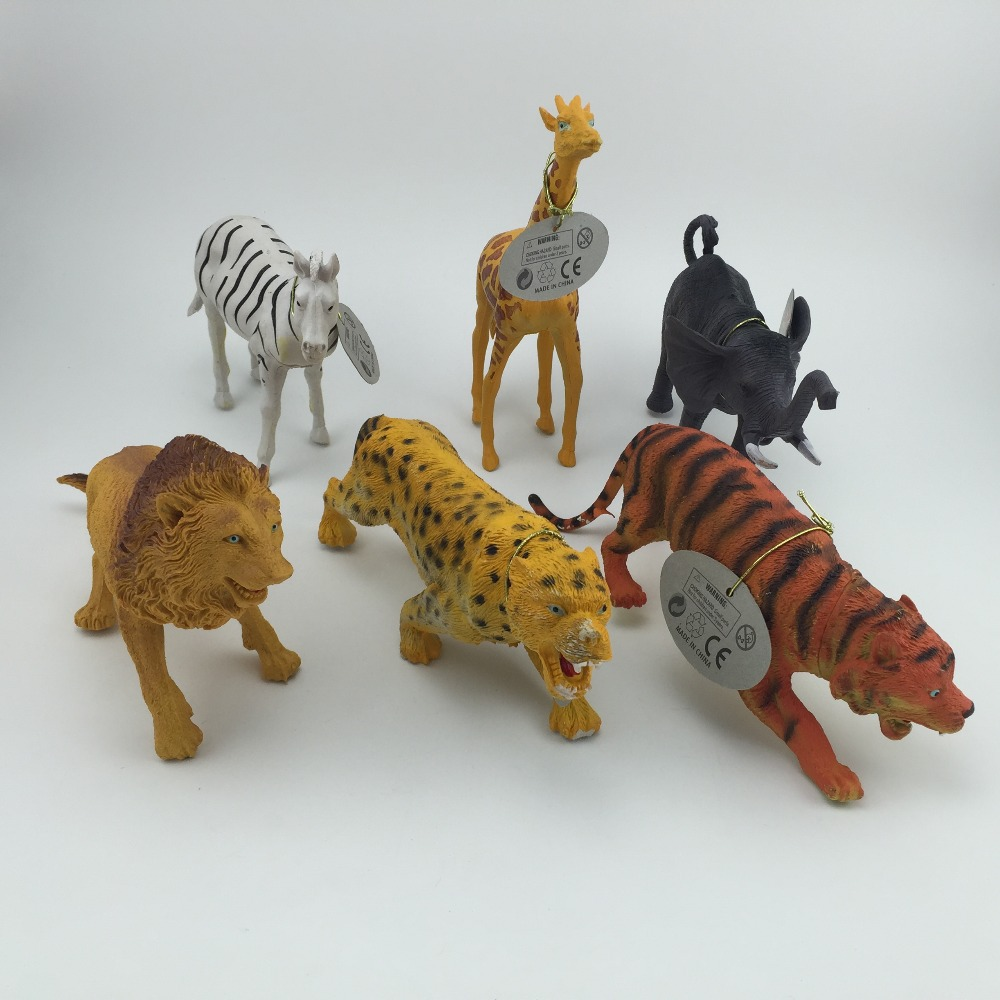 6pcspack animal world lots of fun to play toys with story sense for playing promotion of new products all new design ideas - Product Design Ideas