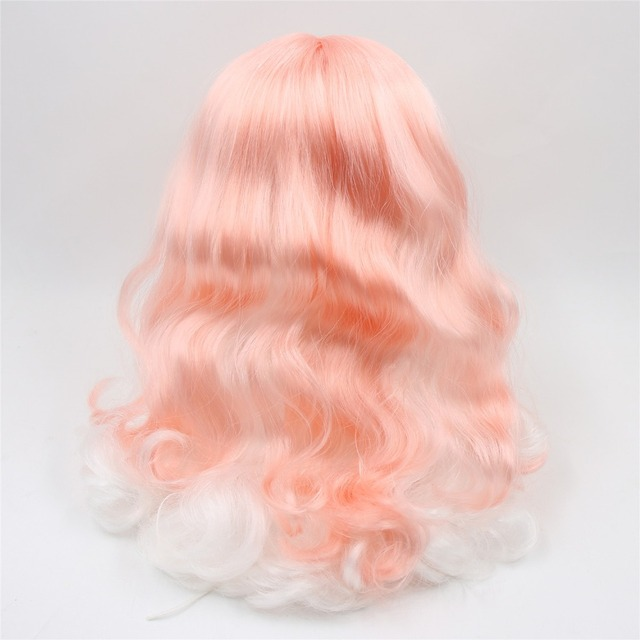 Neo Blythe Doll Scalp & Dome Wavy Hair Wigs