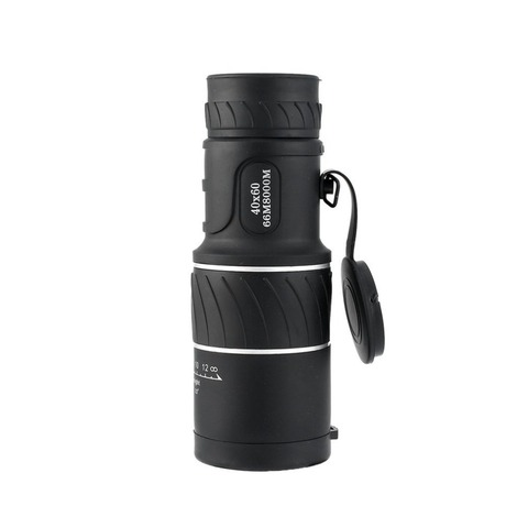Telescópio ao ar Telescópio Panda Noite 40×60 Óptica Monocular Caça Acampamento Caminhadas Livre Dia &