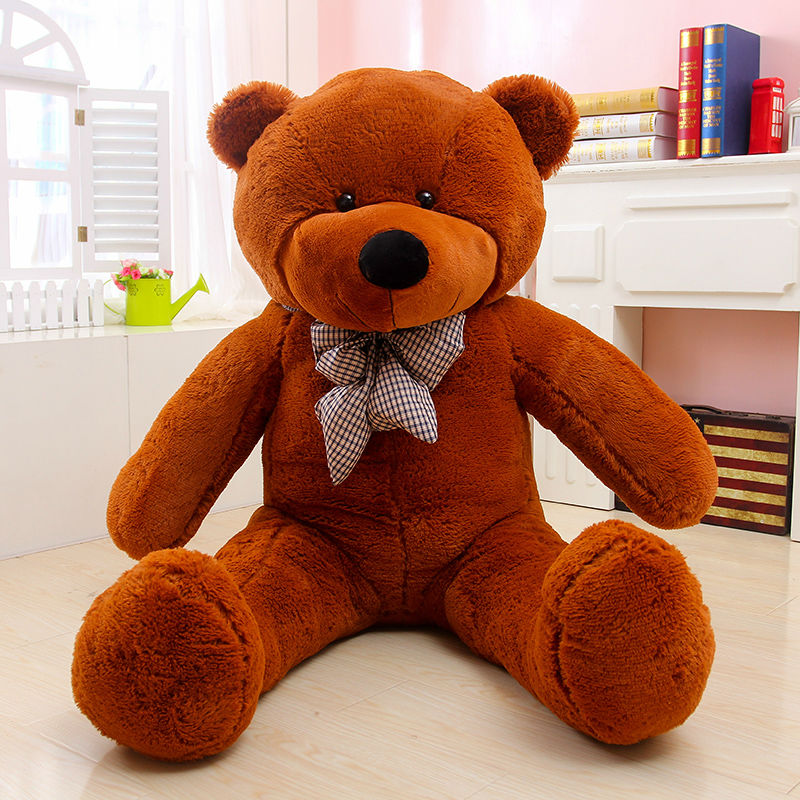 1pcs 100cm Giant Teddy Bear Plush Toys Stuffed Cheap Pirce Kids Girlfriends