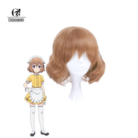 ROLECOS Japanese Anime Blend S Cosplay Hoshikawa Mafuyu Hair Accessories Stile Cafe Sadistic Women Cosplay Synthetic Hair