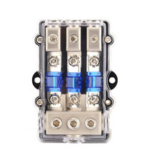 2017 Car Automobile 1 In 2 3 Waterproof Stereo Audio Power Fuse Box Blade Fuse Holder_220x220 online get cheap waterproof fuse block aliexpress com alibaba group how to get power from car fuse box at reclaimingppi.co