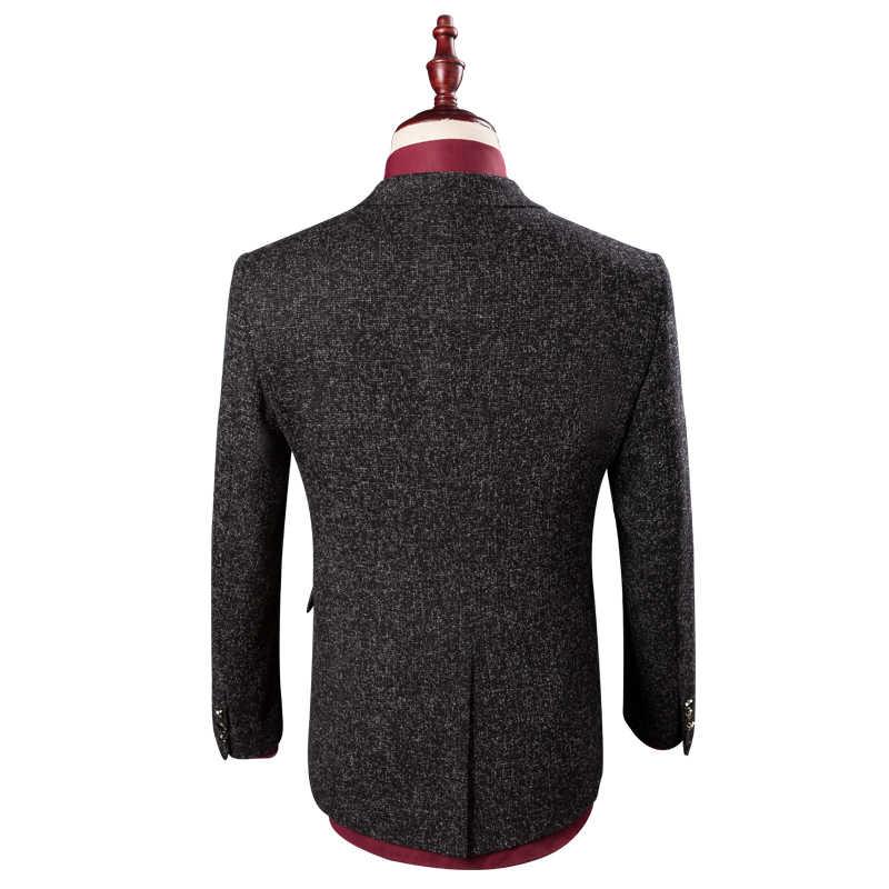 2017新しい到着季節男性ブティックスーツ高品質ビジネスカジュアルスリム三枚新郎ウェディングドレス大サイズm-4xl