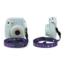 Камера 1,2 метр 47,2 дюймов милый ремешок на шею, через плечо ремень для камеры Instax Камера мини 9/Мини 25/мини 70/Мини 90 розовый
