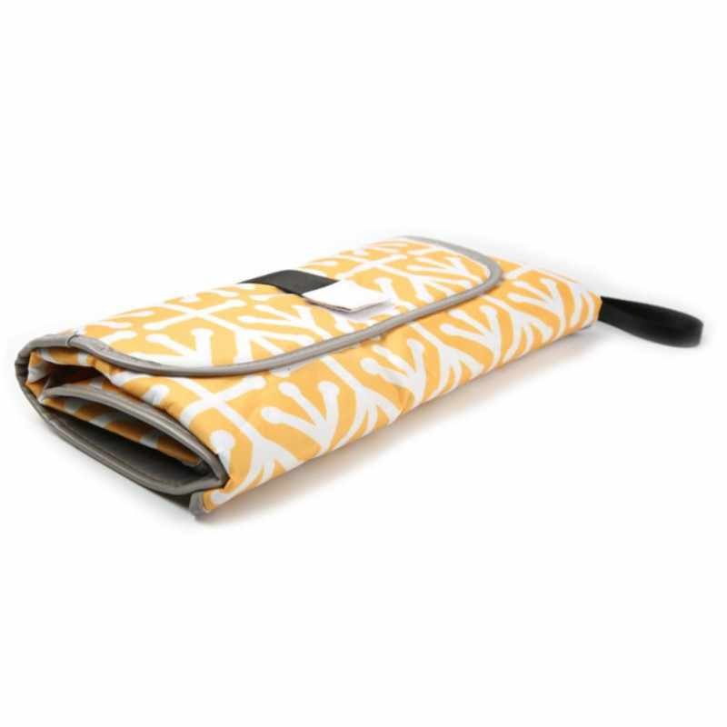 Portátil limpo mãos mudando a almofada 3-em-1 fralda embreagem mudança estação macio esteira de viagem novo quente