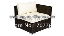 New Design rattan indoor sectional sofa