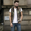 Mens & Women Spring Autumn Clothing Fashion Casual Vest Men Couple Love Camouflage Vests Men Down Sleeveless Jacket Waistcoat