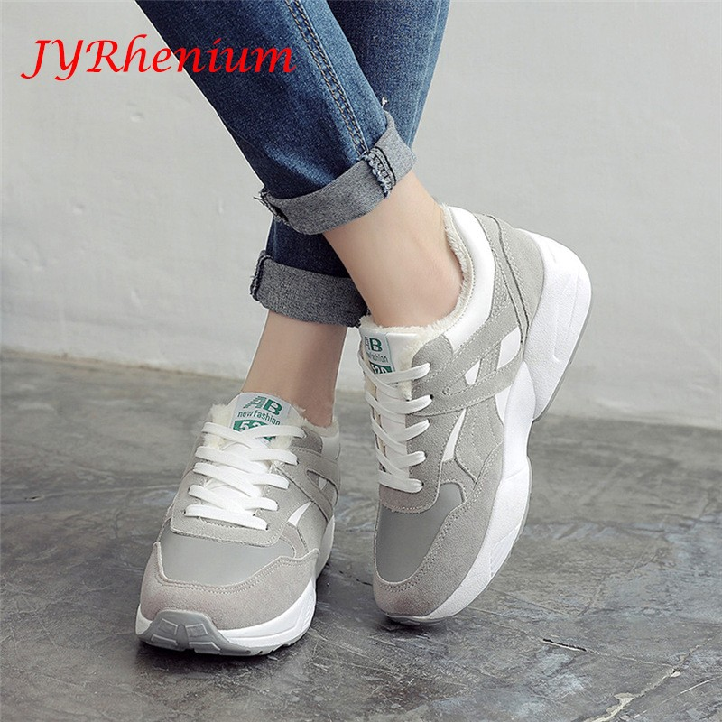 female sneakers warm