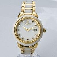 Hotan Jade Wrist Watch Originality Leisure Time Male Fund Wrist Watch Fully Automatic Mechanics Mechanism Surface
