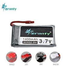 Lipo 1400 v 3.7 mAh Bateria para SYMA X5 X5S X5C X5SC X5SH X5SW M18 H5P HQ898B HQ859B H11D H11C T64 T04 T05 F28 F29 T56 T57 bateria