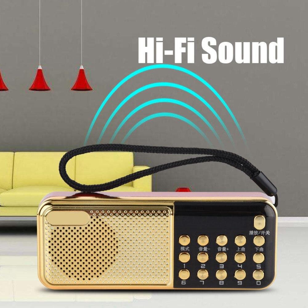 M-11 Mini Lautsprecher Radio Pw Geschnitten Speicherbetrieb Mp3 Player Radio Tragbare 87,5-108 Mhz Fm Lautsprecher Radio Ausreichende Versorgung Radio Tragbares Audio & Video
