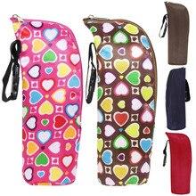 350ml Baby Bottle Insulation Holder Bag Water Warmers Baby Stroller Hanging Bags Travelling Kids Bottle Organizer Bag Baby Care