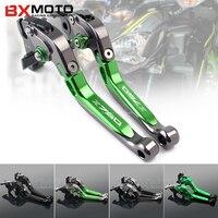 BXMOTO Motorcycle Accessories Cnc Aluminum Brake Clutch Lever Set For Kawasaki Z750 Z 750 2007 2012