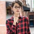 Ultra luz losango novidade decoração óculos de grau lentes lisas das mulheres dos homens óculos de armação tr90 titanium design da marca