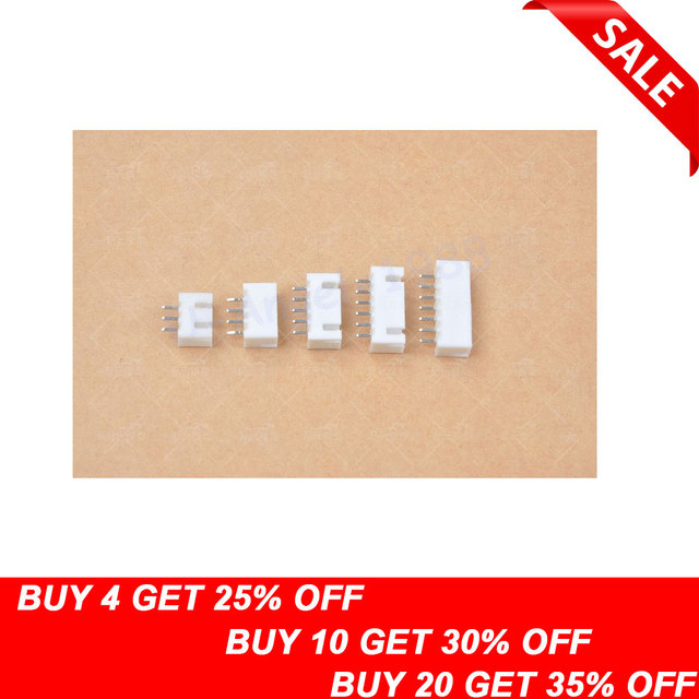 20pcs/lot 2s 3s 4s 5s 6s Balance Charging Connector JST-XH2.5 2.5MM female pins For Imax B6 Charger