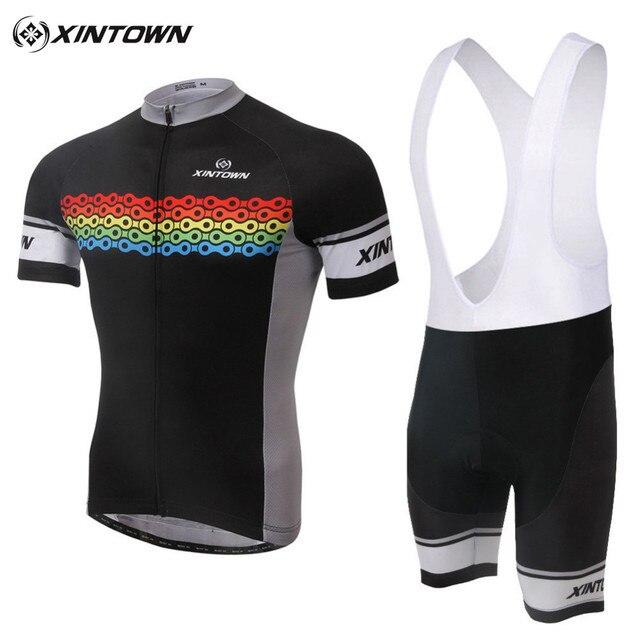 9a4d86b76 XINTOWN Men Cycling Jersey Sets Jacket Bid Gel Pad Shorts Pants Breathable  Sportswear Bike Road Bicycle Clothing Sport Suit