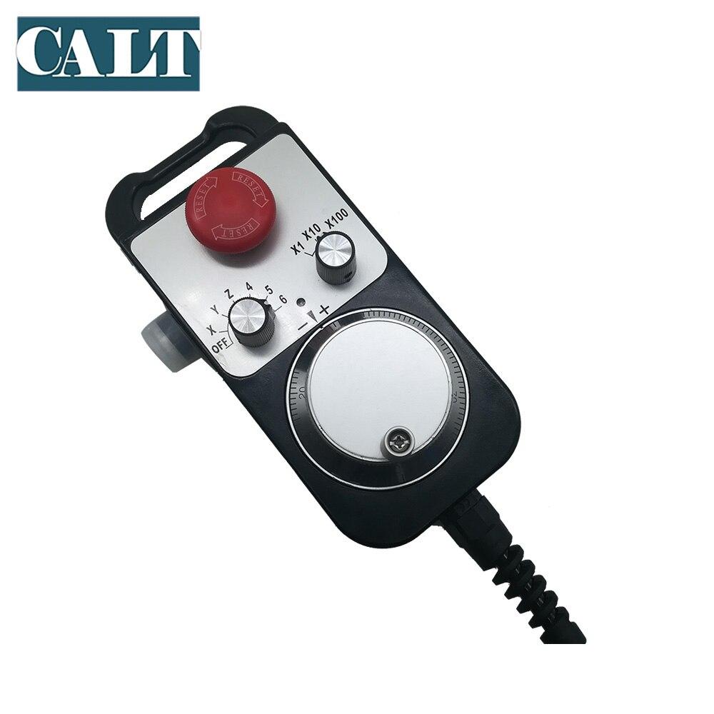 CALT TM1474 100BSL5 станок с ЧПУ ручное колесо MPG 100ppr линейный драйвер напряжение выход 25ppr 142*74 мм ручной импульсный генератор - 4