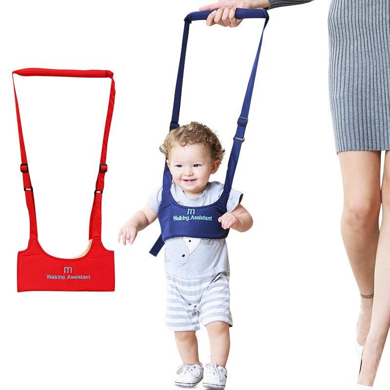 Meibeile Bébé Marcheur Protection Aide Doux Élastique Bébé Ceinture Harnais pour Activité Bambin Avec Sangle Réglable pour L'équilibre