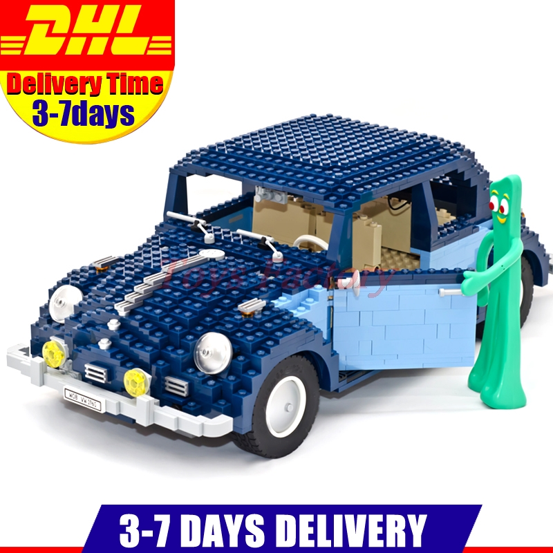 IN Stock LEPIN 21014 1707Pcs Technic Classic Series UCS VW  Beetle Car Set Educational Building Blocks Bricks Toys Model 10187 in stock lepin 23015 485pcs science and technology education toys educational building blocks set classic pegasus toys gifts