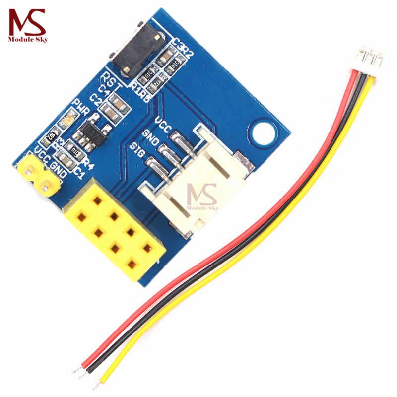 ESP8266 ESP-01 ESP-01S RGB LED Controller Adpater Module for Arduino IDE  WS2812 WS2812B Light Ring Christmas DIY