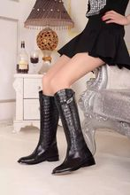 top quality brand Alligator leather boots,fashion kelly Martin boot women's H design luxure boots city's fashional,free shipping