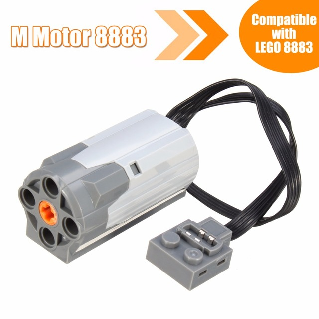 M Motor Technic Series Mechanical Group 8883 Compatible For Lego Electric Embled Building Block Toy Accessories